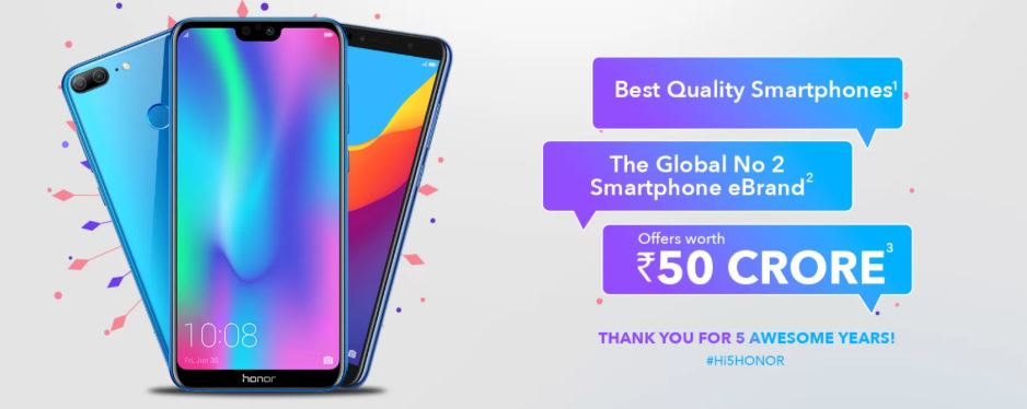 Honor 10, Honor 10 Lite , Honor 7A, and more on discount in