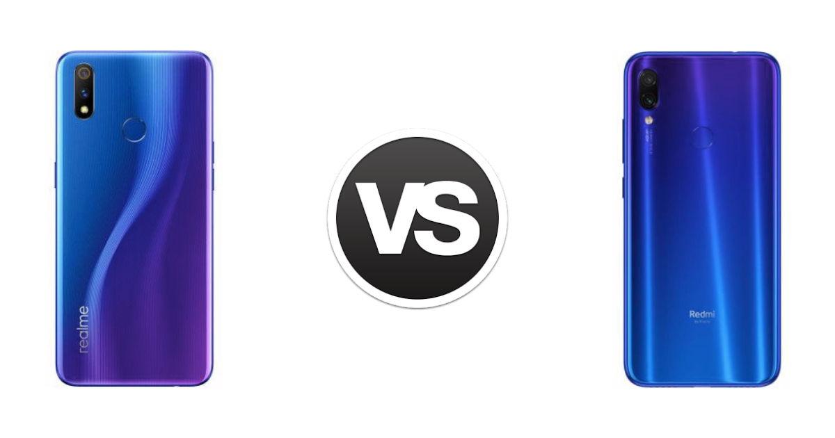 Realme 3 Pro vs Xiaomi Redmi Note 7 Pro camera comparison