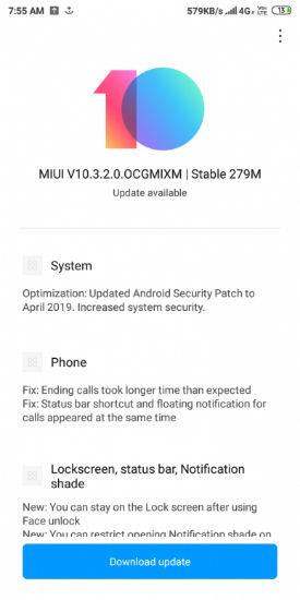 Xiaomi Redmi 6 and Redmi 6A starts receiving MIUI 10 3