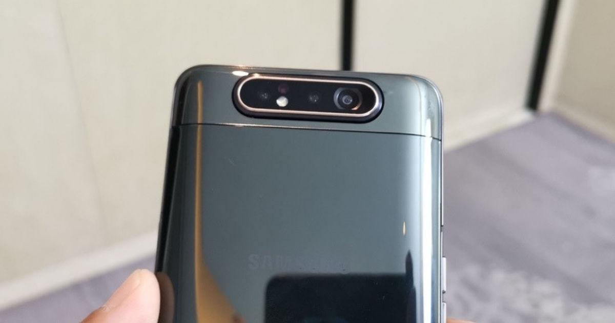 Samsung Galaxy A80 first impressions: chaebol showing