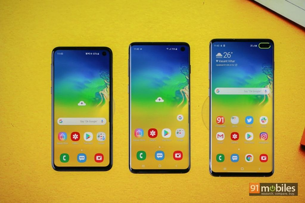 Samsung Galaxy S10 series is proving to be more successful than last
