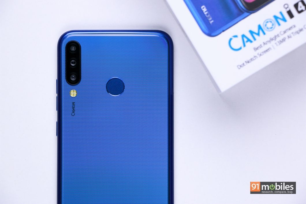 TECNO CAMON i4 unboxing and first impressions: triple camera