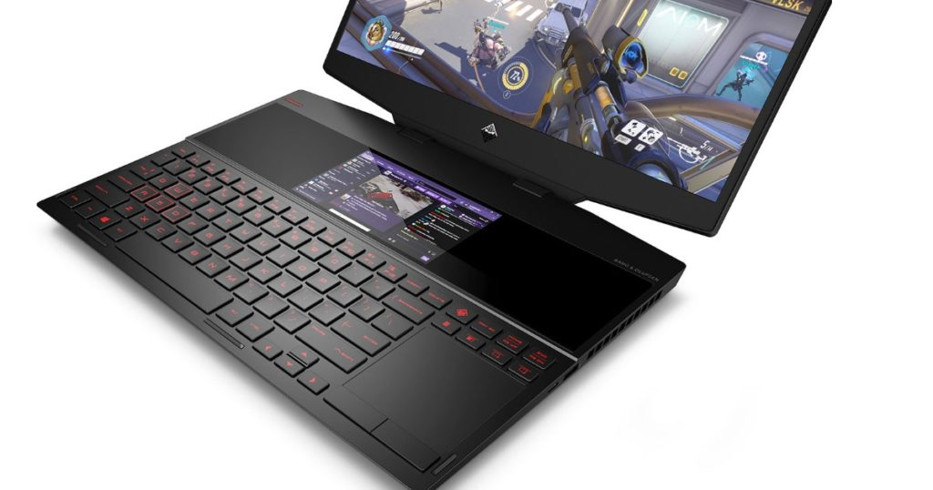 HP Omen X 2S gaming laptop with dual displays launched