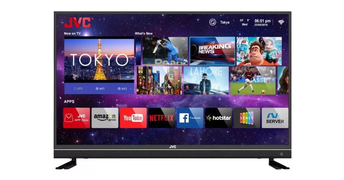 JVC 43-inch 4K smart LED TV launched in India for Rs 24,999