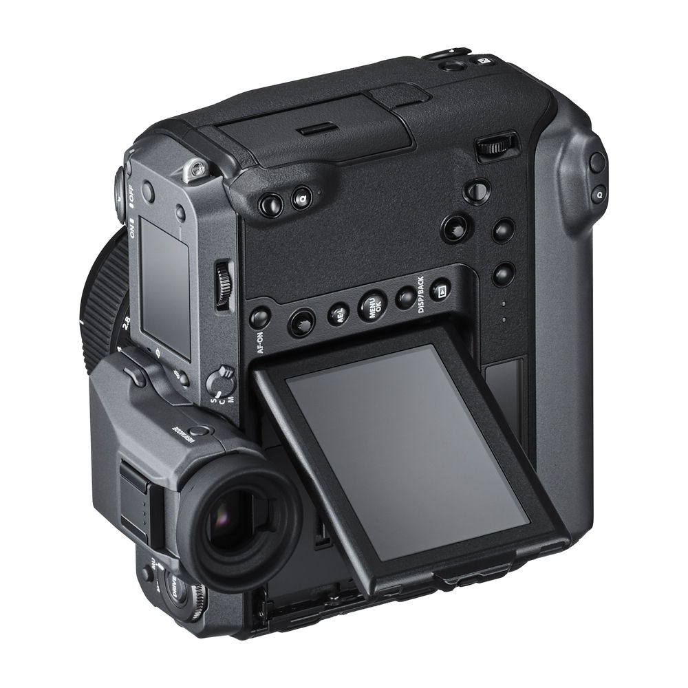 Fujifilm GFX 100 mirrorless camera with 102-megapixel sensor