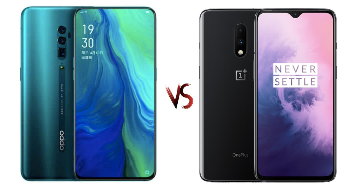 OPPO Reno 10x Zoom vs OnePlus 7: price in India and
