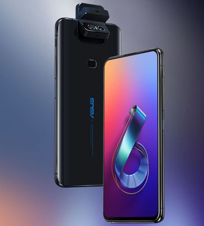 ASUS 6Z software update improves camera flipping stability