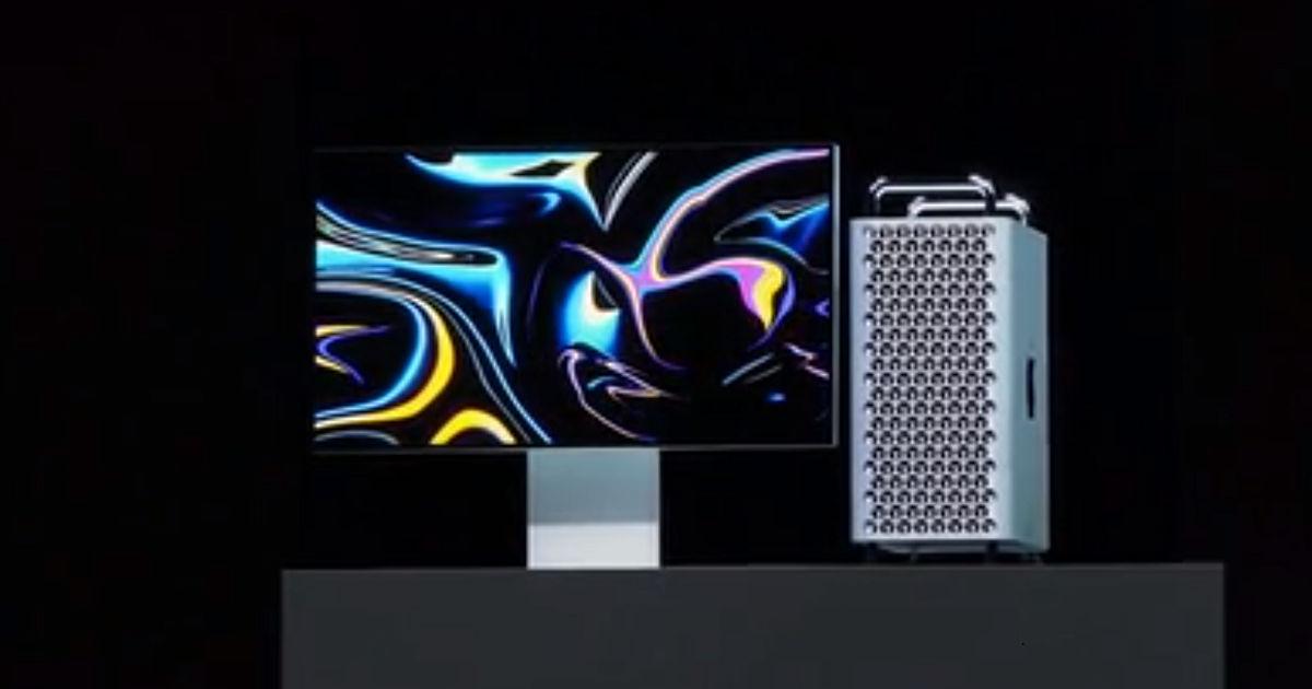 WWDC 2019: Mac Pro with Intel Xeon processor, up to 1 5TB