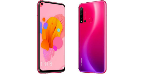 Huawei P20 Lite (2019) with 6 4-inch display, quad rear
