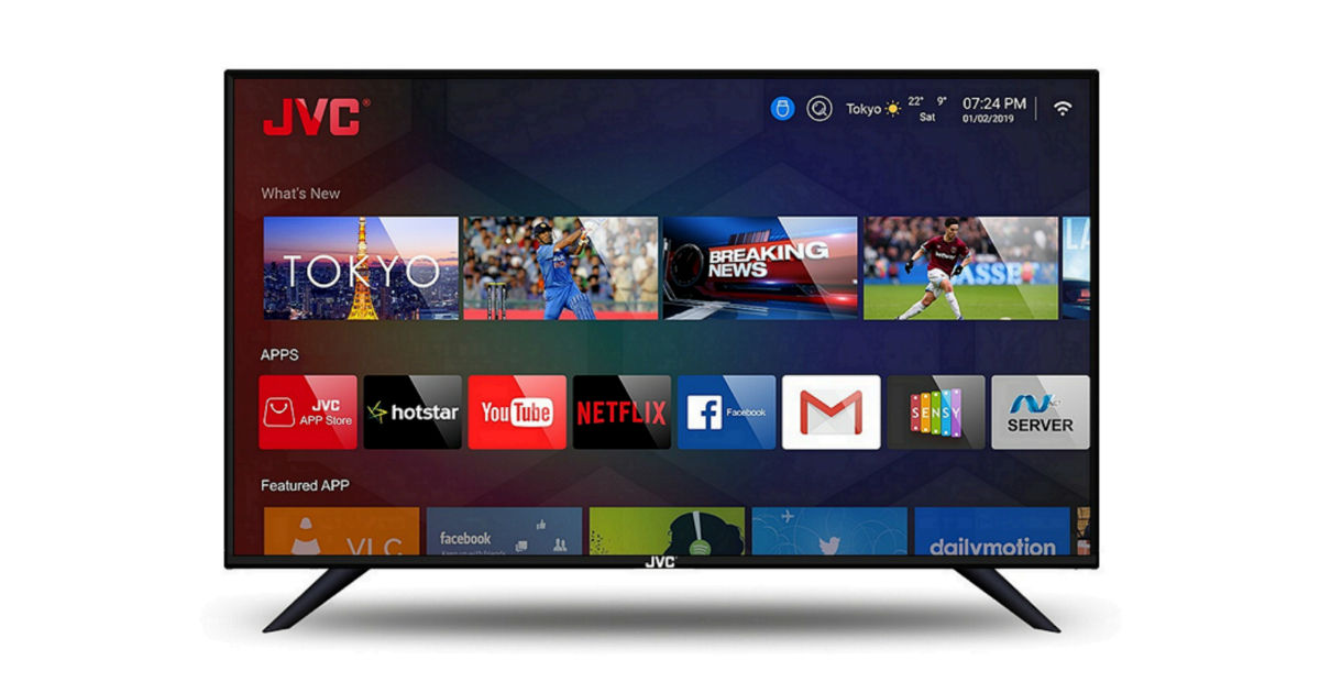 JVC launches six new LED TVs in India, pricing starts at Rs