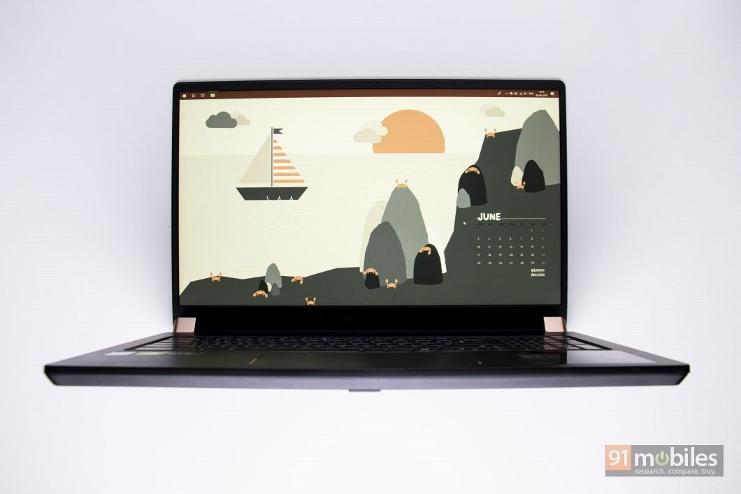 MSI GS75 Stealth 9SG review: immense power packed in a sleek