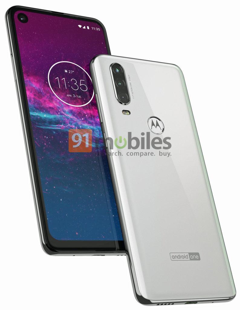 Motorola One Action render