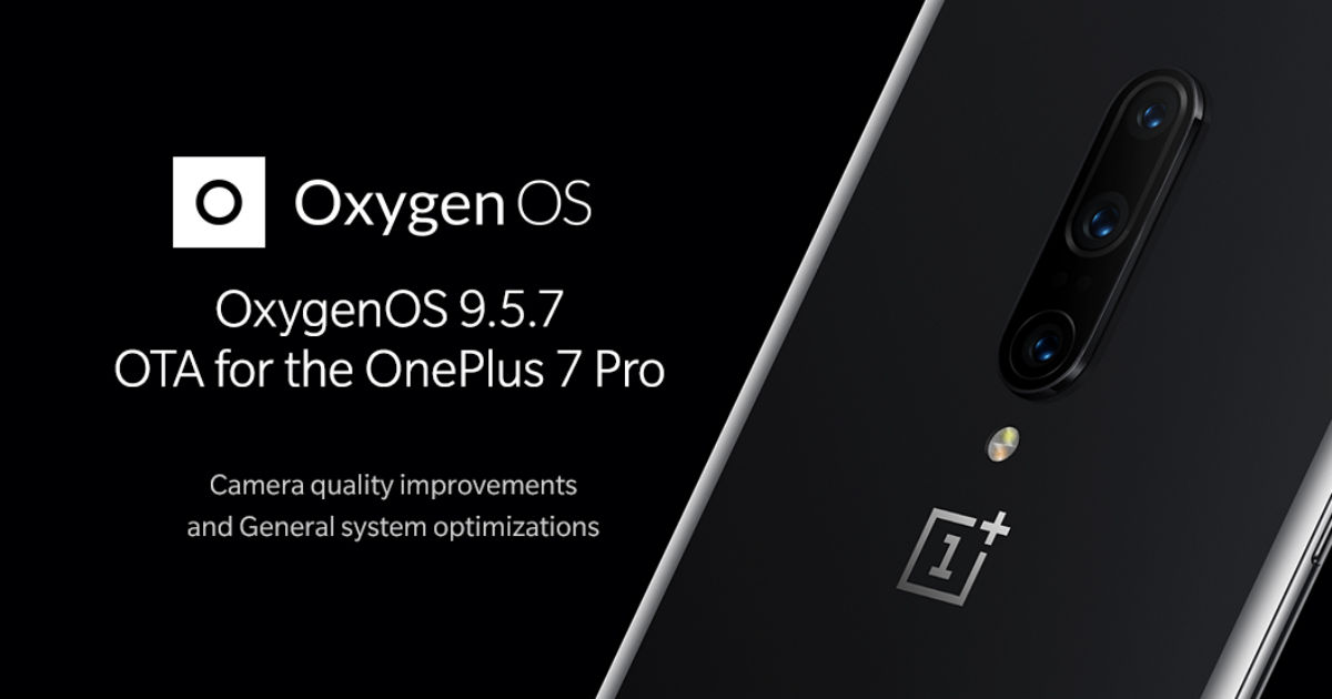 OnePlus 7 Pro OxygenOS 9 5 7 update brings fix for ghost