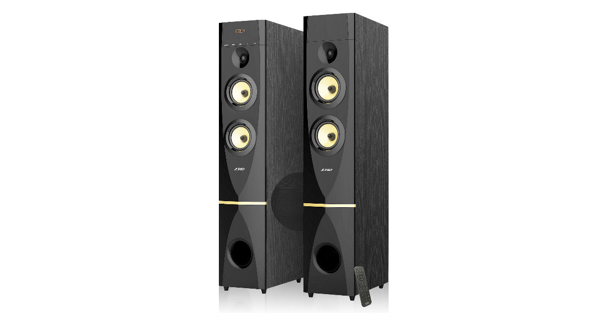F Amp D T88x Tower Speakers With Karaoke Support Launched At