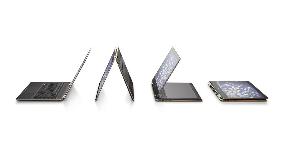 HP Spectre Folio and Spectre X360 always-connected PCs