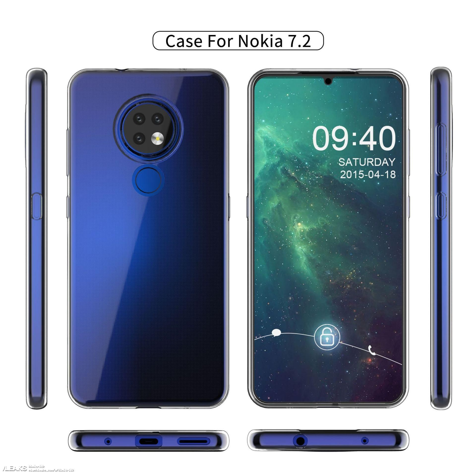 new product e33c0 24456 Nokia 6.2 and Nokia 7.2 cases said to ship in 15 days, launch ...