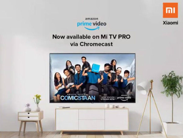 Amazon Prime Video gets Chromecast support, to feature in Mi