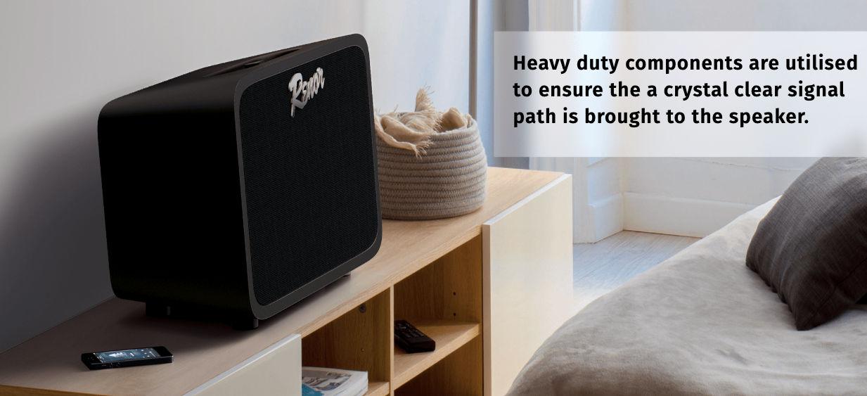 renor hi fidelity bluetooth speaker launched at rs 14 999. Black Bedroom Furniture Sets. Home Design Ideas