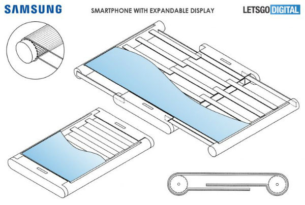 Image result for samsung-patent-retractable-screen