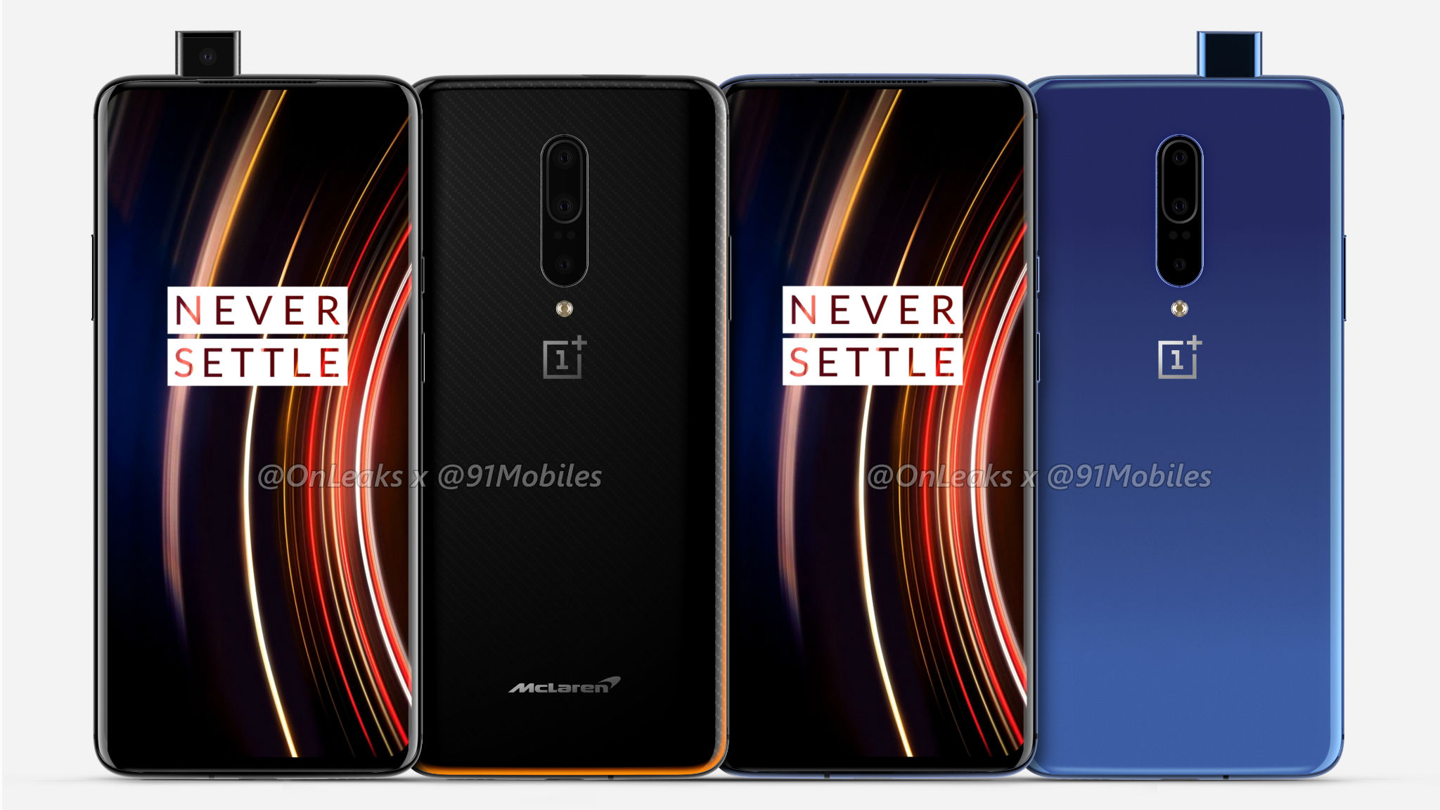Exclusive] OnePlus 7T Pro and OnePlus 7T Pro McLaren Edition