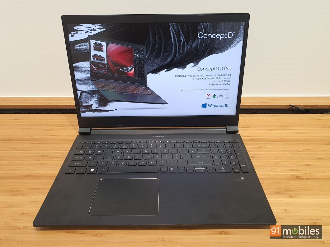 Acer ConceptD 3 and ConceptD 3 Pro first impressions