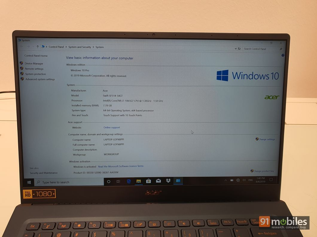 Acer Swift 3 and Swift 5 first impressions: redefining