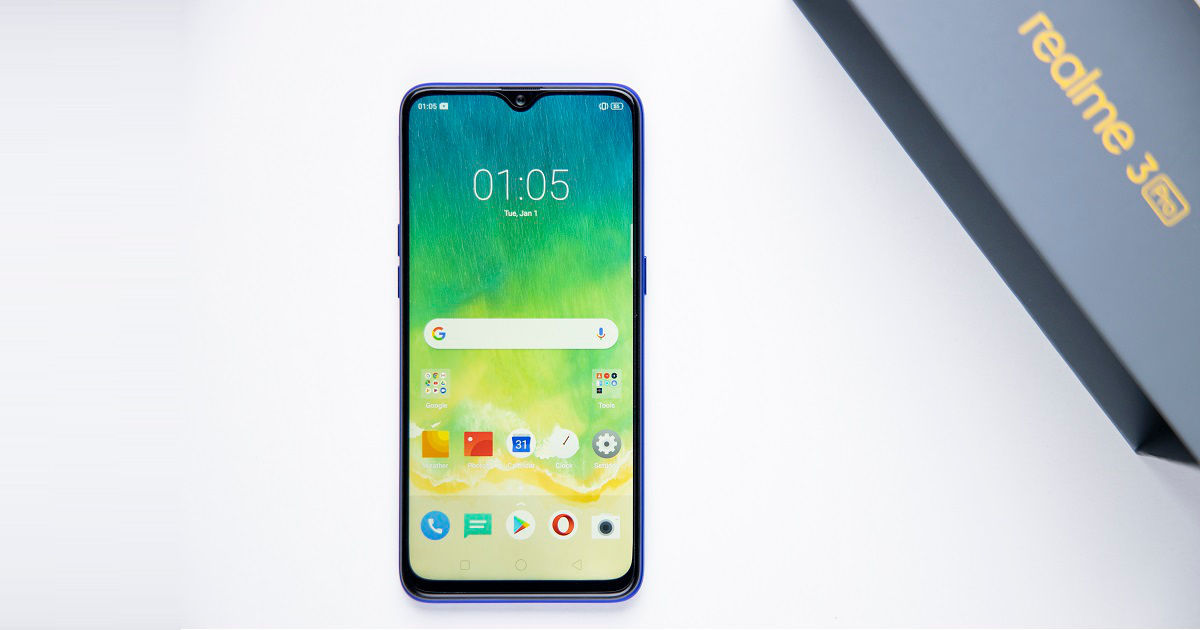 Realme 3 Pro update brings redesigned notification centre, Digital Wellbeing, and more - 91mobiles thumbnail