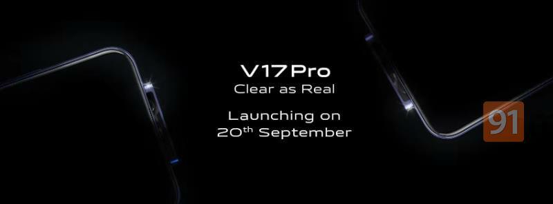 Vivo V17 Pro is going to launch on September 20