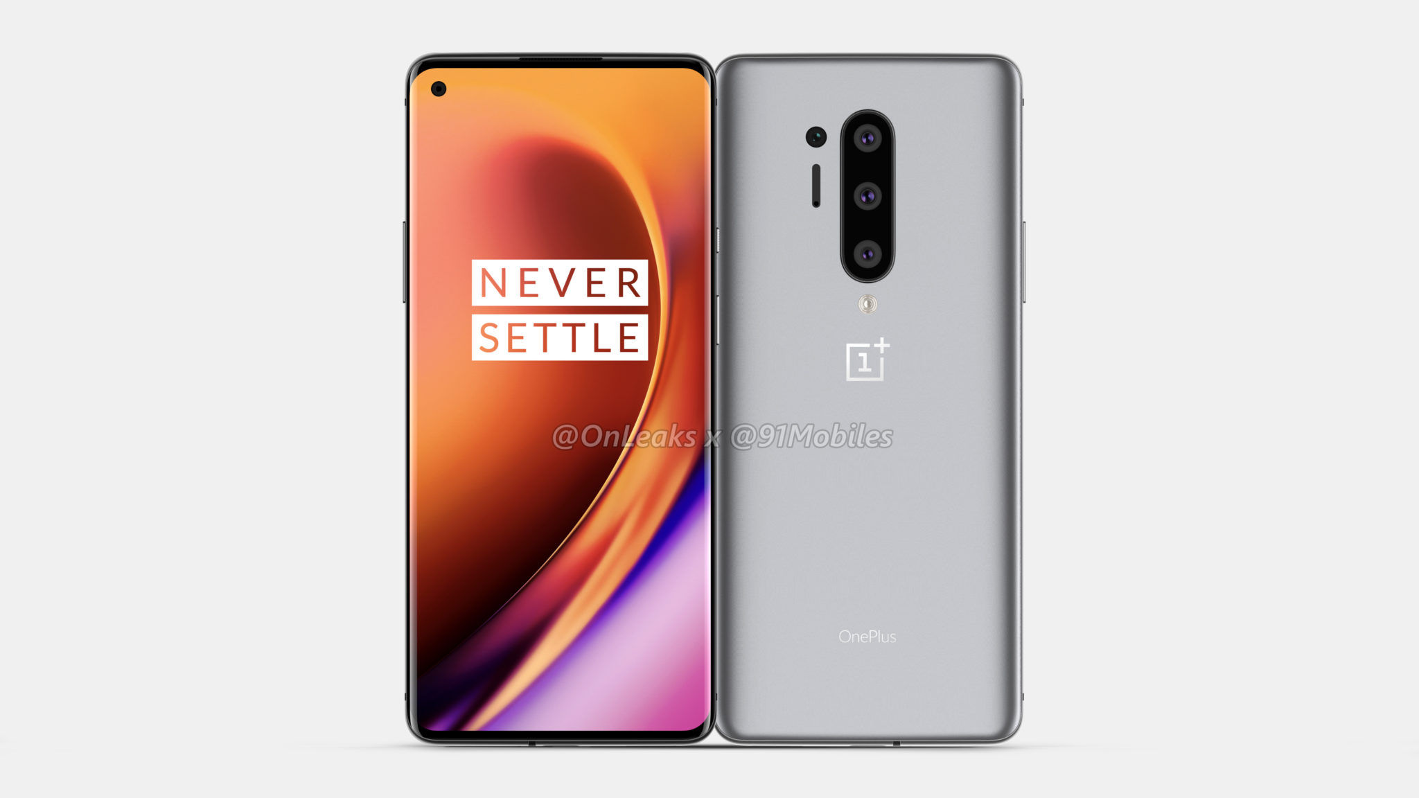 OnePlus 8 series may introduce in the second half of 2020- OnePlus 8 Pro renders image 2