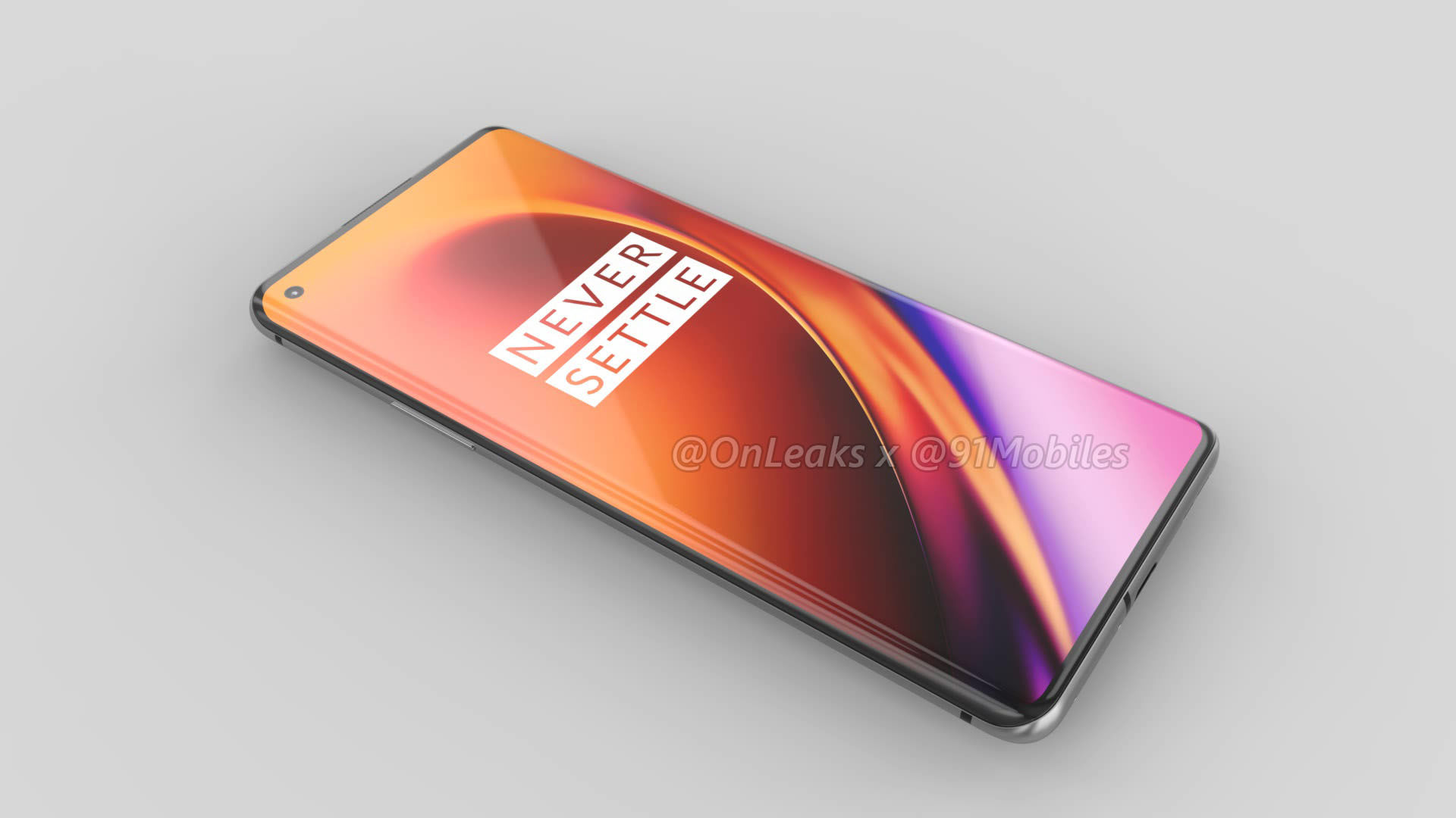 Exclusive Oneplus 8 Pro Renders Reveal Quad Camera Setup And Punch Hole Display 91mobiles Com