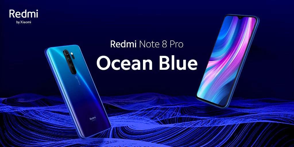 Redmi Note 8 Pro Ocean Blue Colour Variant Announced 91mobiles Com