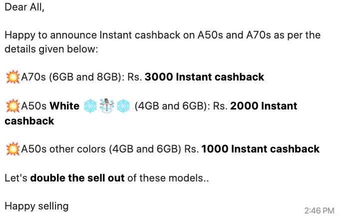 Samsung Galaxy A50s and Galaxy A70s prices slashed by up to Rs 3,000 in offline stores