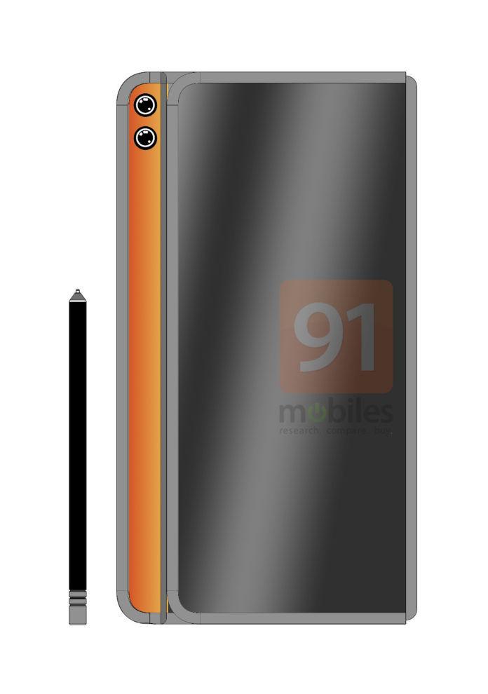 Se filtra el diseño del nuevo Huawei Mate X2, el segundo plegable de Huawei 1