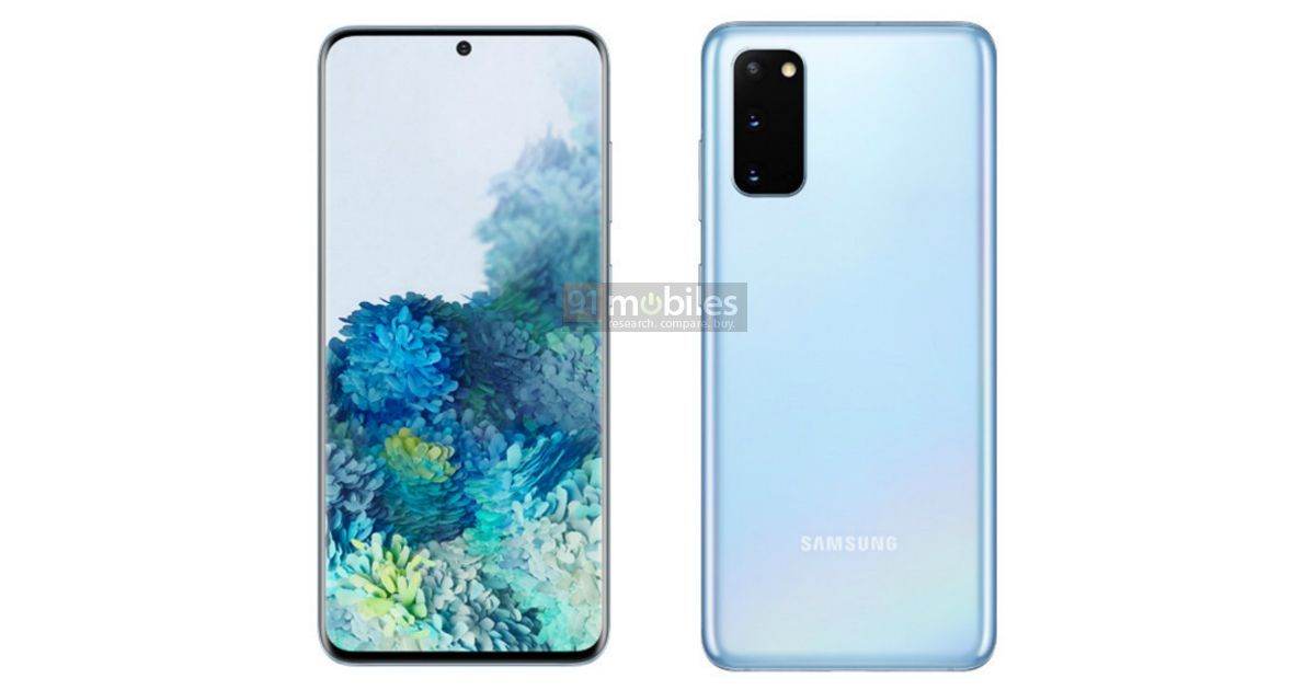 Exclusive] Samsung Galaxy S20 and Galaxy S20+ official renders and