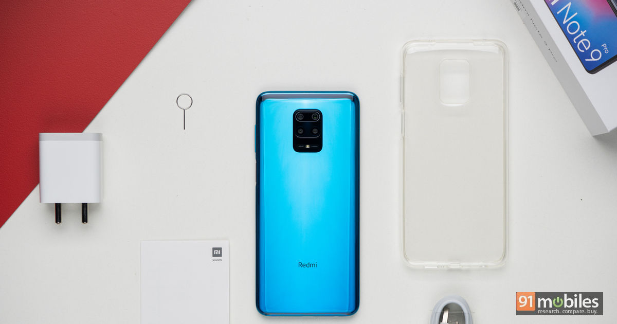 Xiaomi Redmi Note 9 Pro Unboxing And First Impressions 91mobiles Com