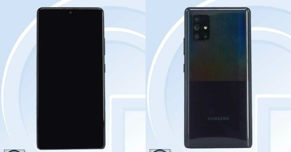Samsung Galaxy A71 5g Key Specifications And Images Revealed Via Tenaa Certification 91mobiles Com