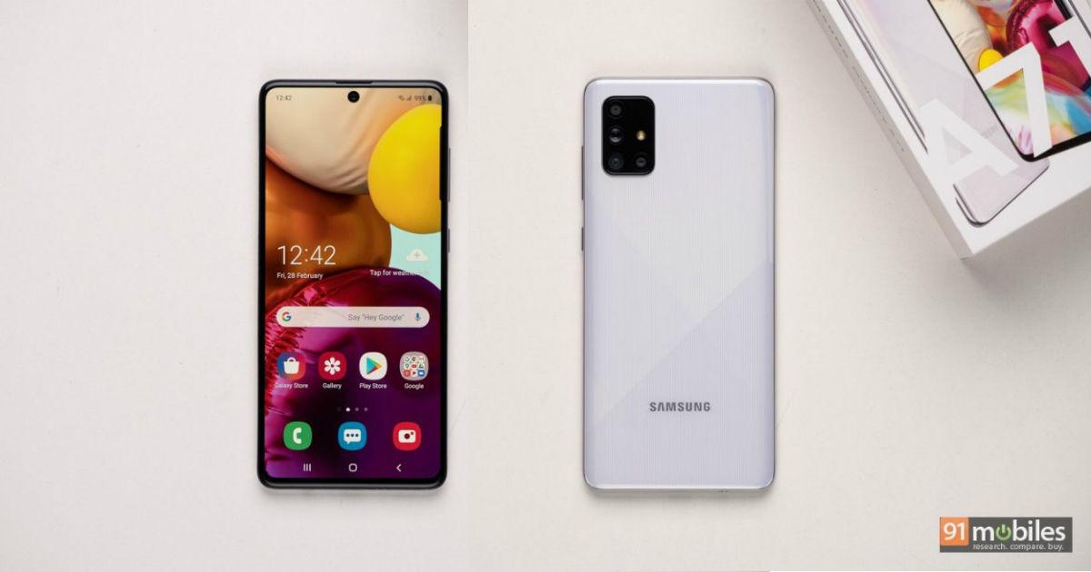 Samsung Galaxy A71 Review 91mobiles Com