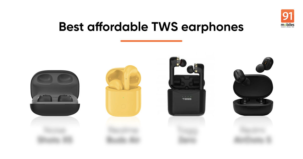 Top Affordable Tws Earbuds Under Rs 5 000 Jbl C100tws Realme Buds Air Redmi Earbuds S And More 91mobiles Com