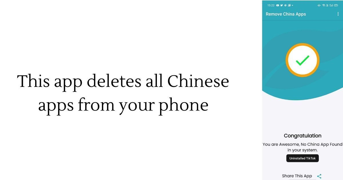 Remove China Apps Crosses 1 Million Downloads As Anti China Sentiment Gains Momentum 91mobiles Com