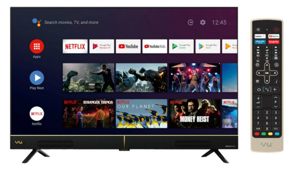 Vu Cinema 32 Inch Hd Ready And 43, Does Vu Tv Have Screen Mirroring