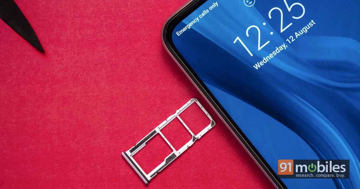 Redmi 9 Prime SIM and storage support
