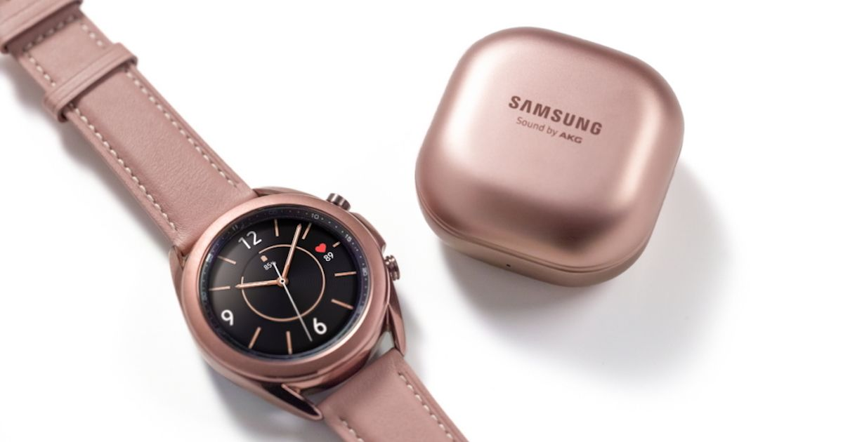 Samsung Galaxy Watch 3 Smartwatch And Galaxy Buds Live Wireless Earbuds Launched Price Specifications 91mobiles Com