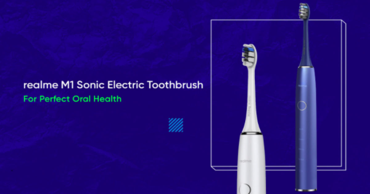 Realme M1 Sonic Electric Toothbrush to launch in India alongside Realme 7 and 7 Pro - 91mobiles