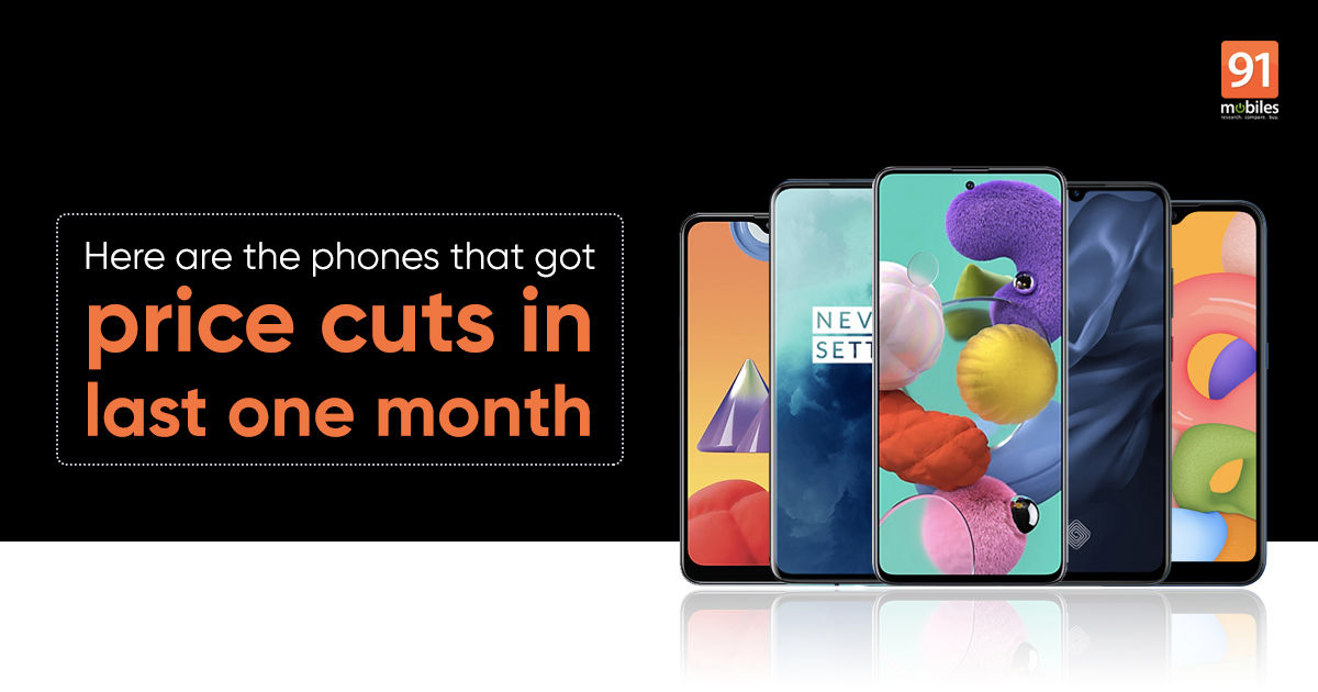 10 popular smartphones that received price cuts in India this month
