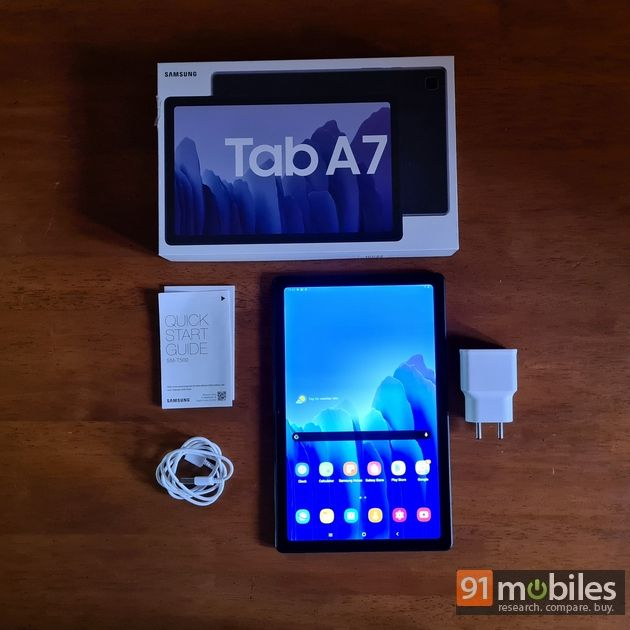 Samsung Galaxy Tab A7 unboxing and first impressions