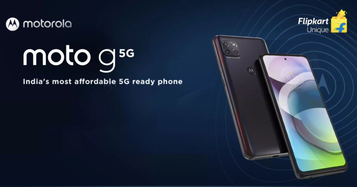 Moto G 5G launch date in India revealed