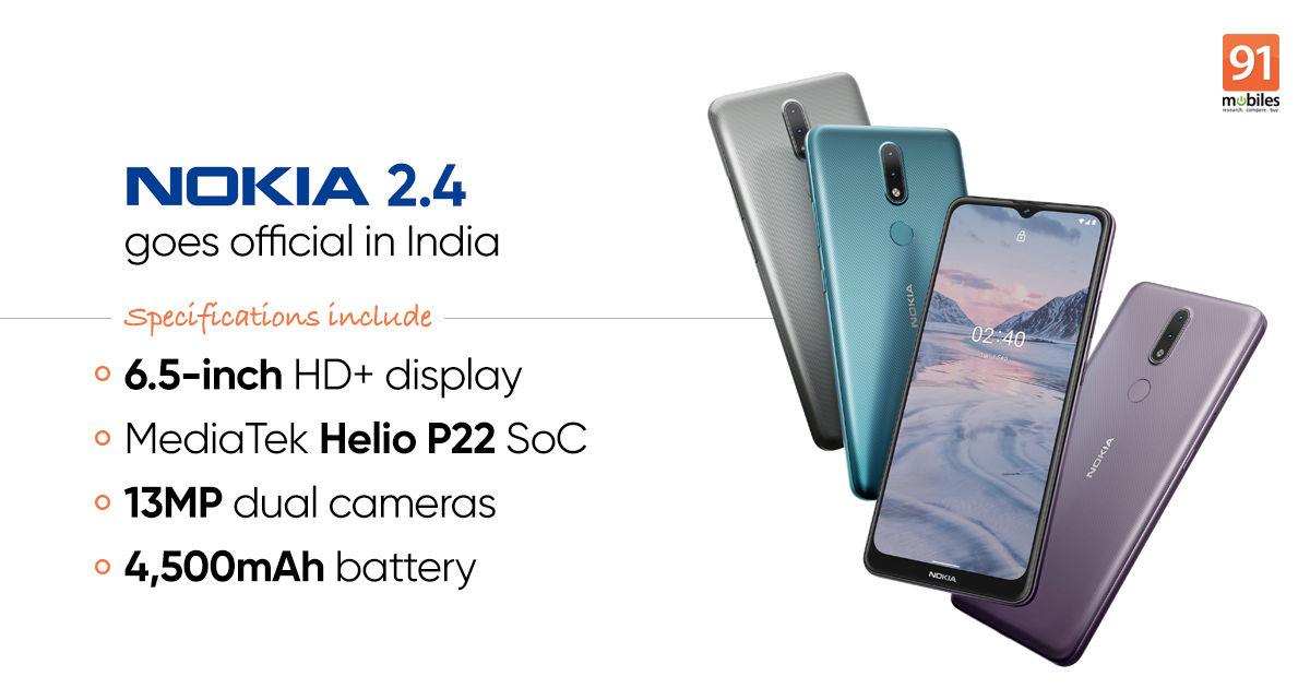 Nokia 2 4 Launched In India Price Specs 91mobiles Com