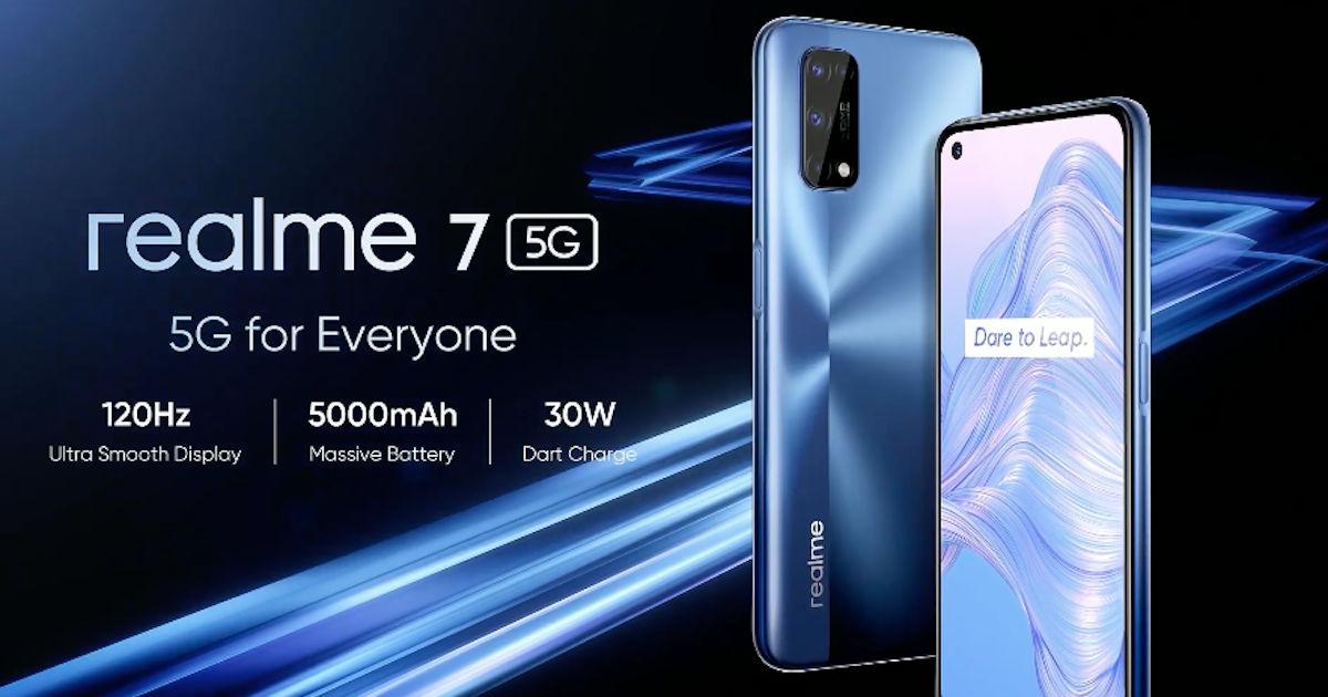 Realme 7 5G price, specs announced