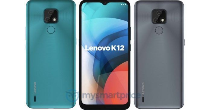 Lenovo K12 Global Variant colours design renders