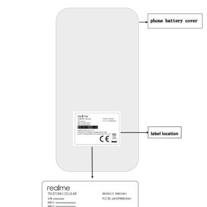 Realme RMX3061 FCC listing